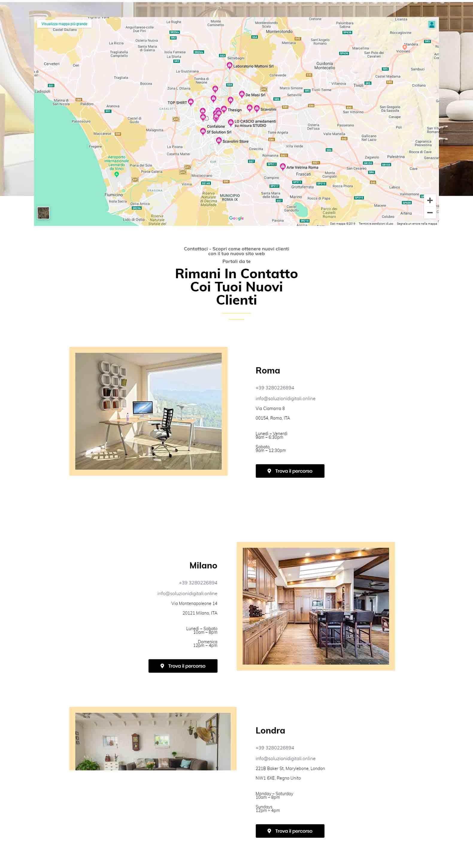 Arredamento di Design Soluzioni Digitali Online Sito Web Creare Realizzare siti SEO efficace Marketing Responsivo Cont1